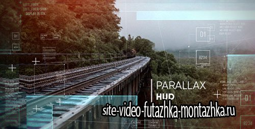 Parallax HUD Slideshow 18083110 - Project for After Effects (Videohive)