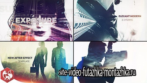 Double Exposure Slideshow - Project for After Effects (Videohive)