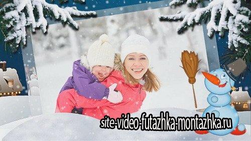 Проект ProShow Producer - Серебристые снежинки