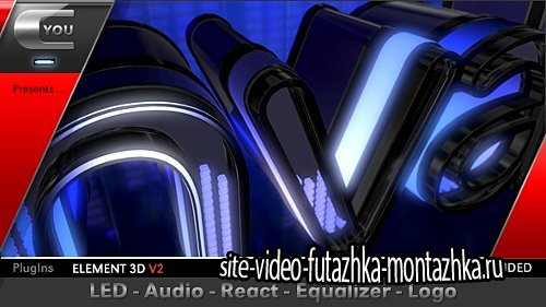 LED Audio React Equalizer Logo - Project for After Effects (Videohive)