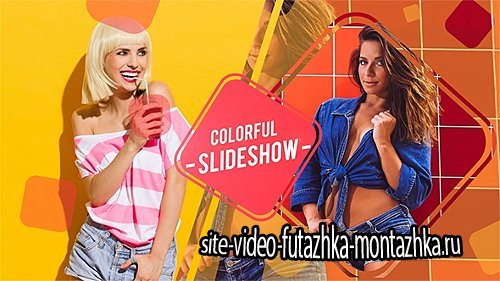 Colorful Slideshow - Project for After Effects (Videohive)