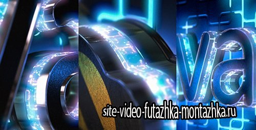 Neon Logo Reveal with Cube Tunnel - Project for After Effects (Videohive)