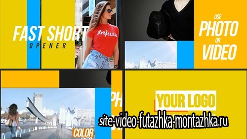 Fast Short Opener - Project for After Effects (Videohive)
