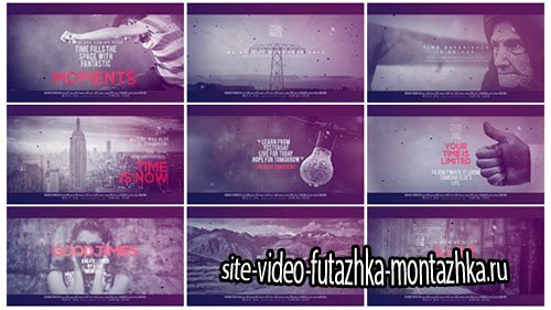 Time Dimension - Project for After Effects (Videohive)