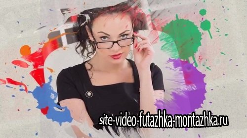 Colorful Ink Slideshow - Проект ProShow Producer