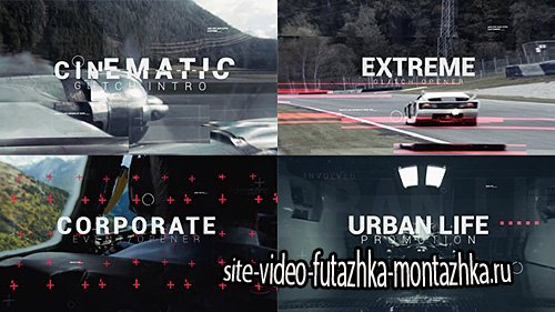 Cinematic Glitch Epic Trailer - Project for After Effects (Videohive)