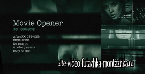 Movie Opener 4616361 - Project for After Effects (Videohive)