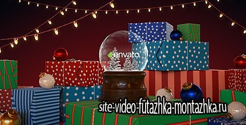 Christmas Snow Globe - Project for After Effects (Videohive)
