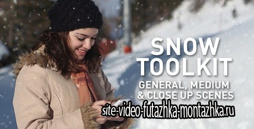 Snow Toolkit - Project for After Effects (Videohive)