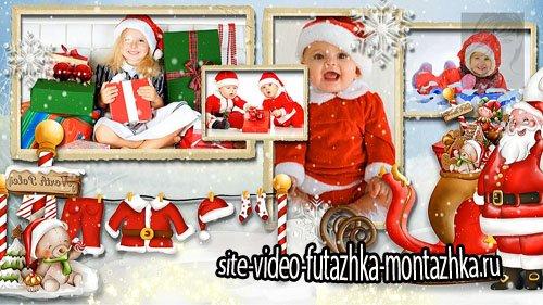 Новогодний проект для ProShow Producer - Подарки к Рождеству