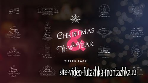 17 Christmas & New Year Titles - Project for After Effects (Videohive)