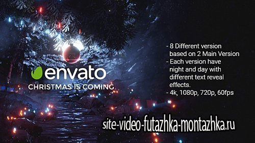 4k Magical Christmas Opener 2 - Project for After Effects (Videohive)