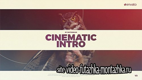 Cinematic Intro - Project for After Effects (Videohive)