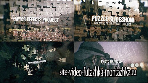 Puzzle Slideshow - Project for After Effects (Videohive)