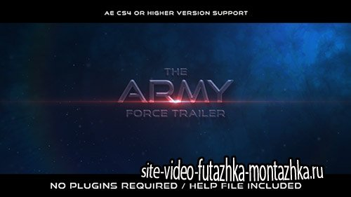 The Army Force Trailer - Project for After Effects (Videohive)