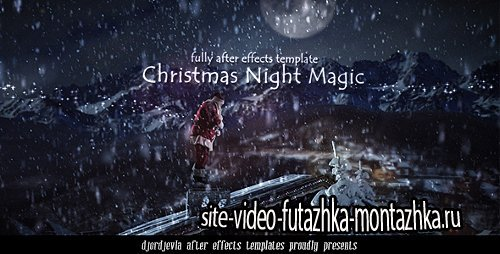 Santa Claus in the New Year's Eve - Project for After Effects (Videohive)