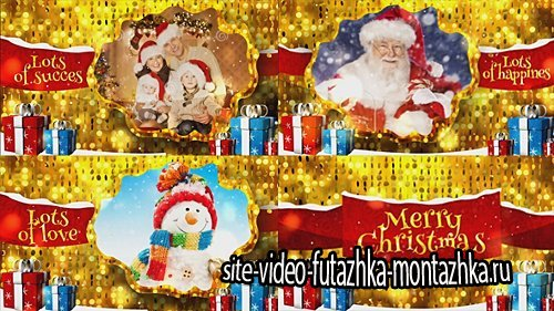Merry Christmas Gold - Project for After Effects (Videohive)