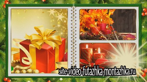 Проект ProShow Producer - Christmas Magic Photo Album