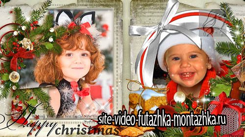 Новогодний проект для ProShow Producer - Счастливое Рождество