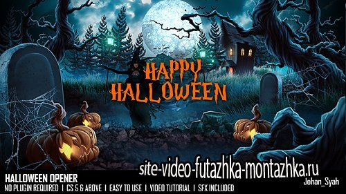 Halloween Opener - Project for After Effects (Videohive)
