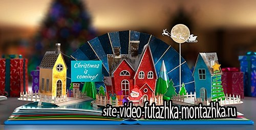 Christmas Pop-Up Book 2 - Project for After Effects (Videohive)