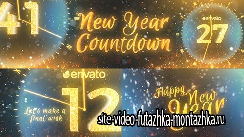 New Year Countdown 2017 19160784 - Project for After Effects (Videohive)