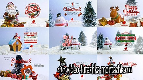 10 Miniature Christmas Wishes - Project for After Effects (Videohive)