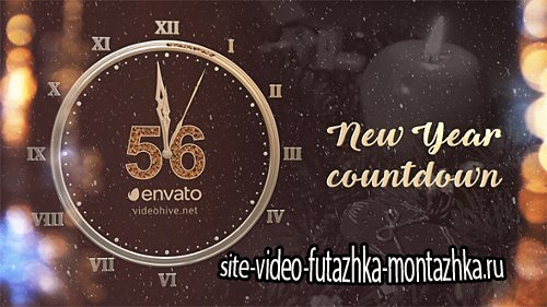 New Year Countdown 2017 - Project for After Effects (Videohive)