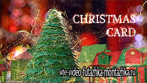 Christmas Card - Project for After Effects (Videohive