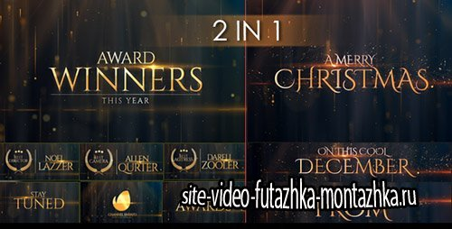 Award Winners & Christmas Message - Project for After Effects (Videohive)