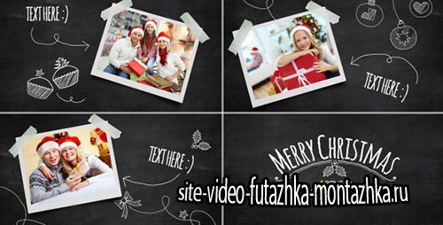 Christmas Blackboard - Project for After Effects (Videohive)