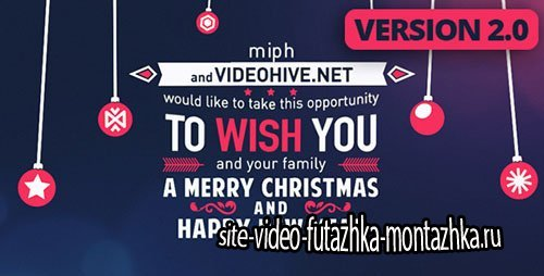 Christmas Typography 3585478 - Project for After Effects (Videohive)