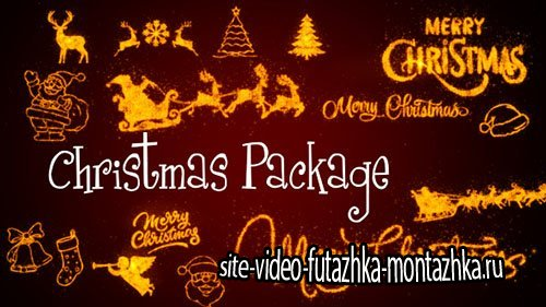Christmas Package - Motion Graphic (Videohive)