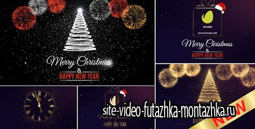 Merry Christmas Countdown - Project for After Effects (Videohive)