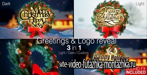 Christmas Magic Greetings - Project for After Effects (Videohive)