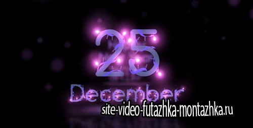 Christmas Lights Font - Project for After Effects (Videohive)