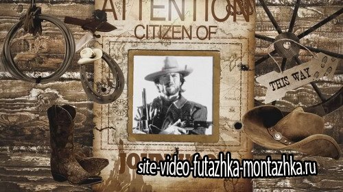 Проект ProShow Producer - The Hunters - Wild West
