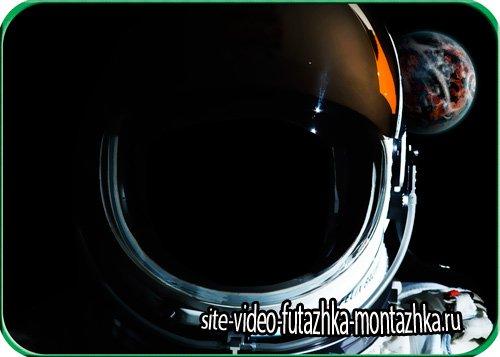 Фотошаблон для фото - В космосе