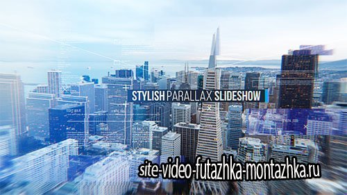Stylish Parallax Slideshow - Project for After Effects (Videohive)