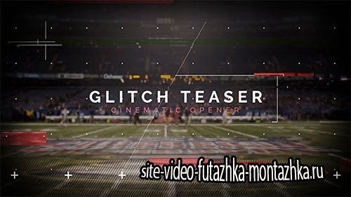 Cinematic Glitch Teaser - Project for After Effects (Videohive)