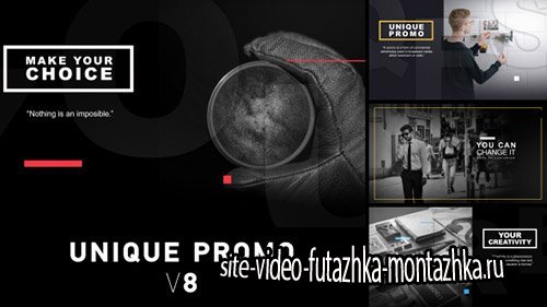 Unique Promo v8 - Project for After Effects (Videohive)