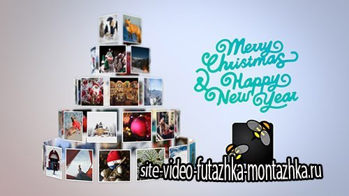 Christmas Tree Slideshow - Project for After Effects (Videohive)