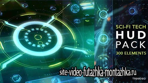 HUD Sci-Fi Infographic - Project for After Effects (Videohive)