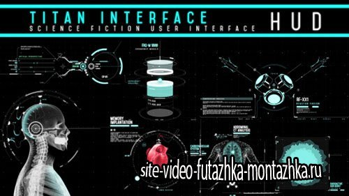 HUD - Titan Interface - Project for After Effects (Videohive)