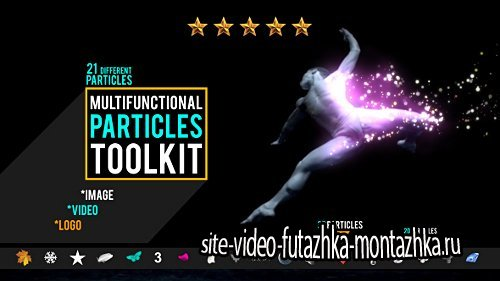 Multifunction Particles Toolkit - Project for After Effects (Videohive)