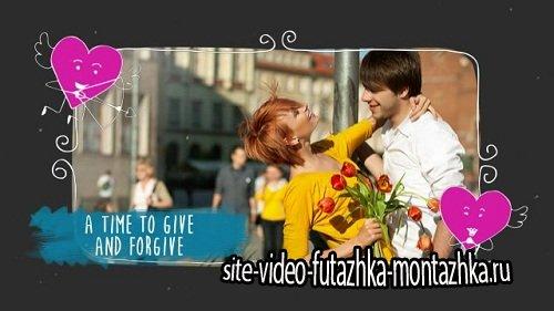 Проект ProShow Producer - Valentine Love Slideshow