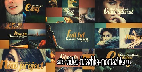 Easy Slideshow 17424495 - Project for After Effects (Videohive)