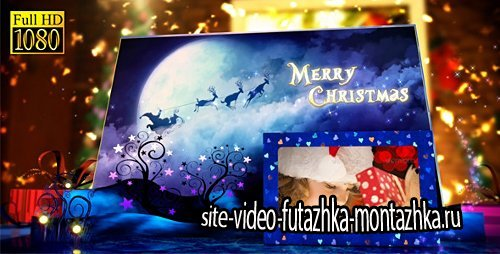 Christmas Pop-Up Book - Project for After Effects (Videohive)