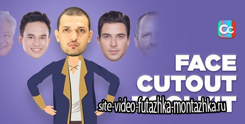 Face Cutout Toolkit - Project for After Effects (Videohive)