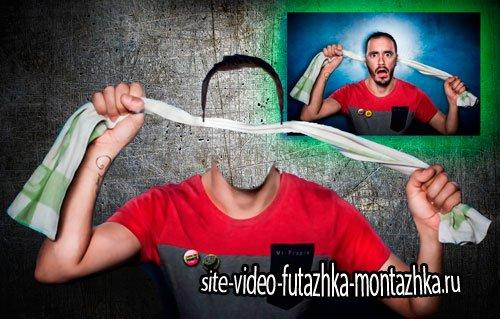 Шаблон фотошоп фотошаблон для фото - Сквозные уши